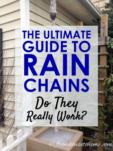 The Ultimate Guide To Rain Chains: Do They Really Work?