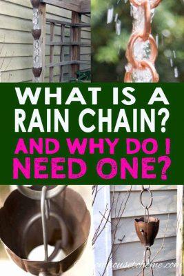 Rain chain ideas