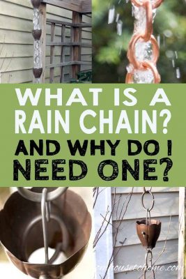 Guide to rain chains