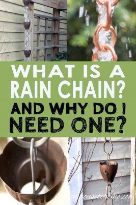 Guide to rain chains