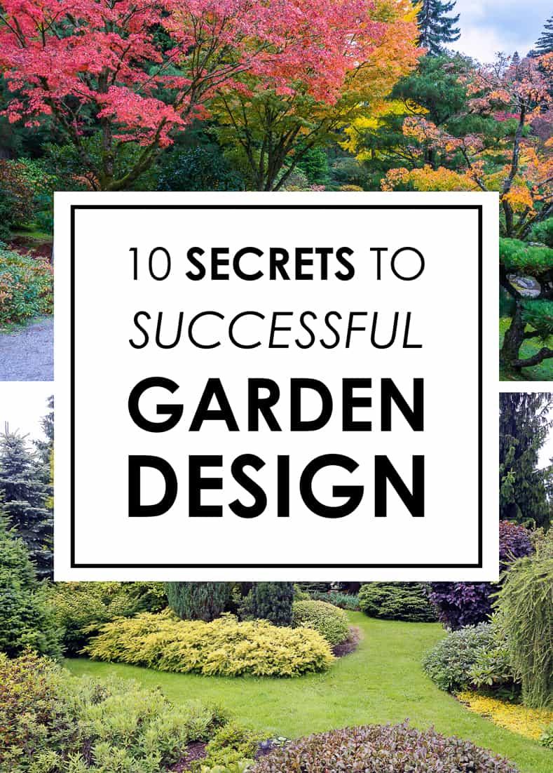 secrets to successful garden design