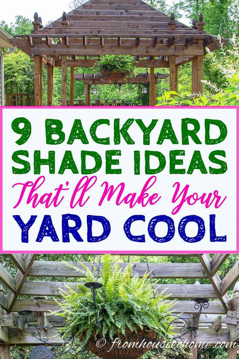 9 backyard shade ideas that will cool down your yard