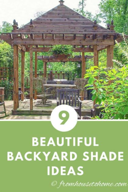 Best backyard shade ideas