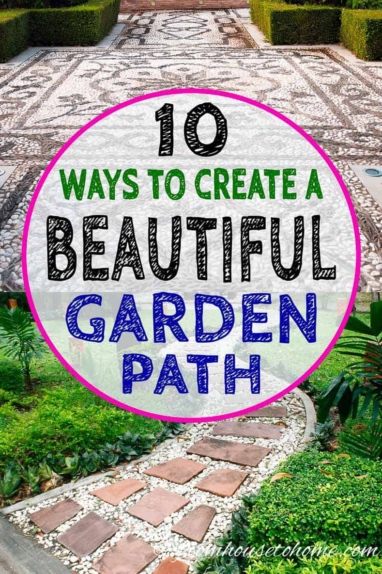Garden Path Ideas 10 Ways To Create A Beautiful Walkway