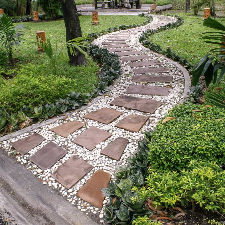 Garden Path Ideas: 10 Ways To Create A Beautiful Walkway   Gardening @ From  House To Home