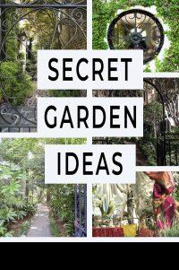 Secret garden ideas
