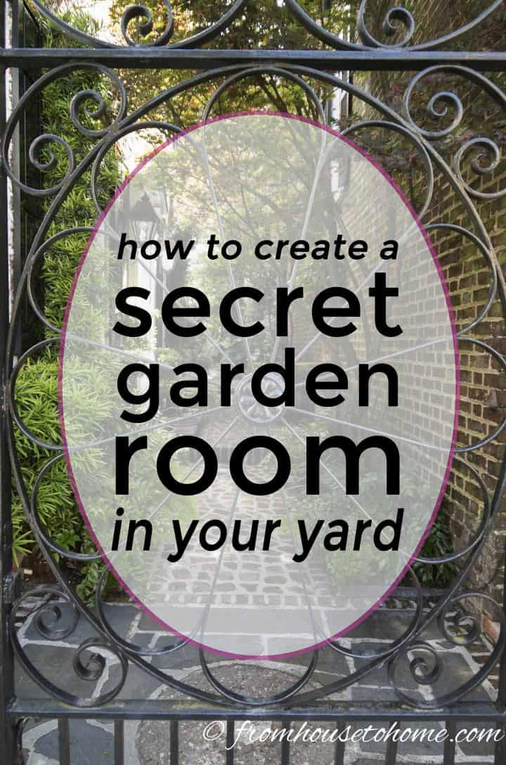 Secret gardens are a beautiful way of garden landscaping that will create your dream garden in your backyard. Find out what you need to include in your garden design (like garden paths and patios) to make your beautiful backyard garden a reality.