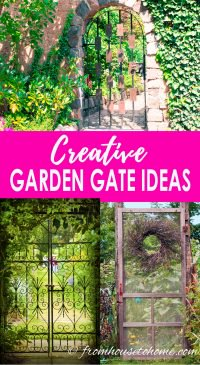 Pin It So You Donu0027t Forget It! Creative Garden Gate Ideas