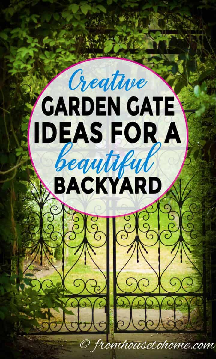 Garden gate ideas