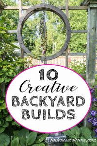 10 creative backyard builds