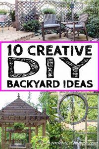 10 creative DIY backyard ideas