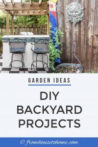 Garden Ideas: DIY backyard projects