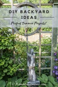DIY backyard ideas: Perfect Summer Projects