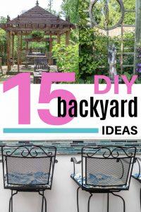 15 DIY backyard ideas