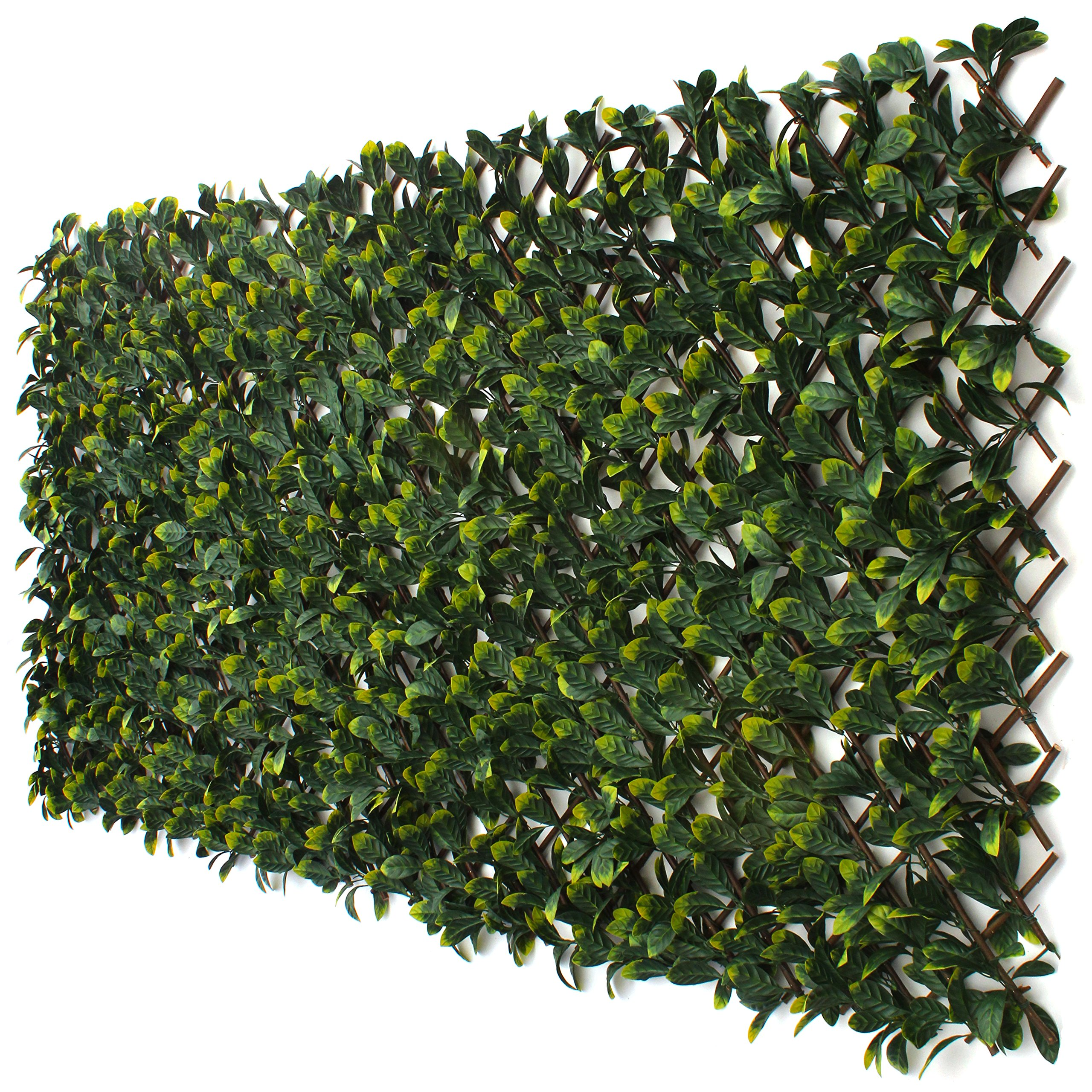 Faux living wall privacy screen