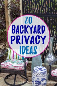20 Backyard Privacy Ideas