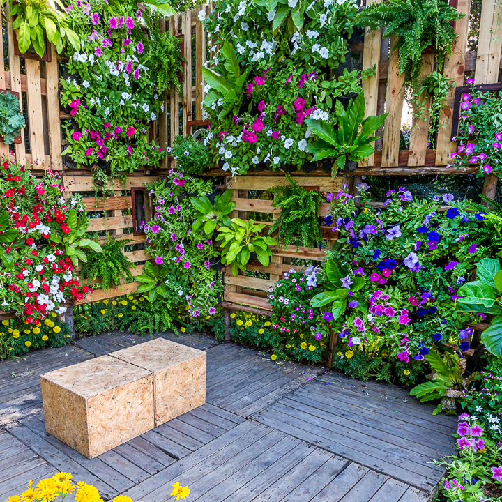Vertical Garden Design With Gazebo Installation 16+ Creative DIY Vertical Garden Ideas For Small Gardens - Gardening @ From  House To Home