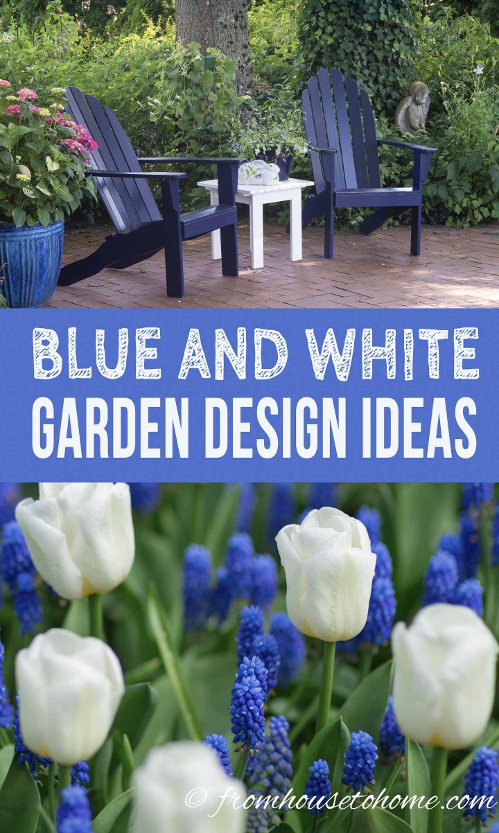 Blue and White Garden Design Ideas - Gardening @ From House ...