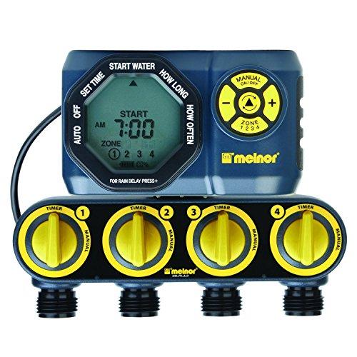Soaker hose water timer