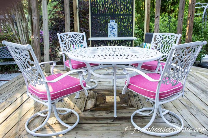How To Paint Metal Patio Furniture Gardening From