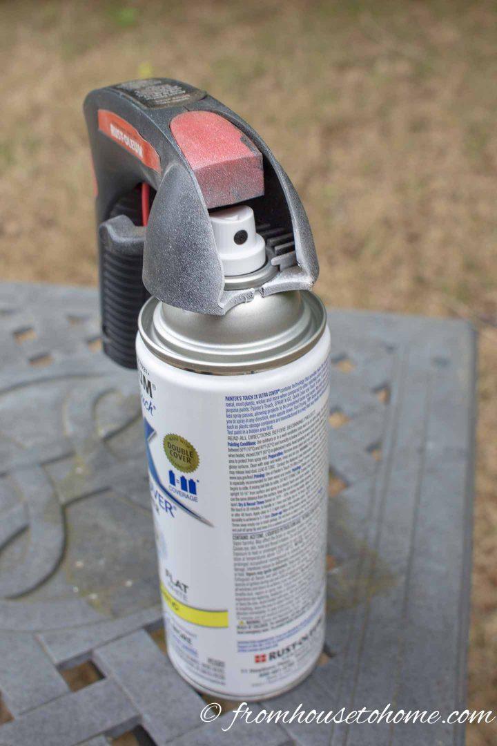Spray can paint grip