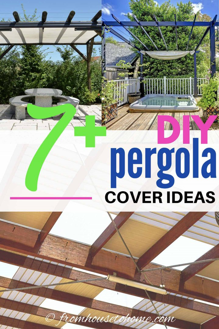 7+ DIY pergola cover ideas