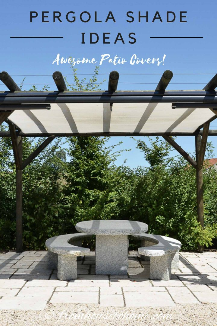DIY Pergola Cover Ideas: 7 Ways To Protect Your Patio From ...