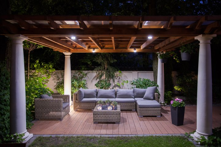 Outdoor Pergola Lighting Ideas Gardening From House To