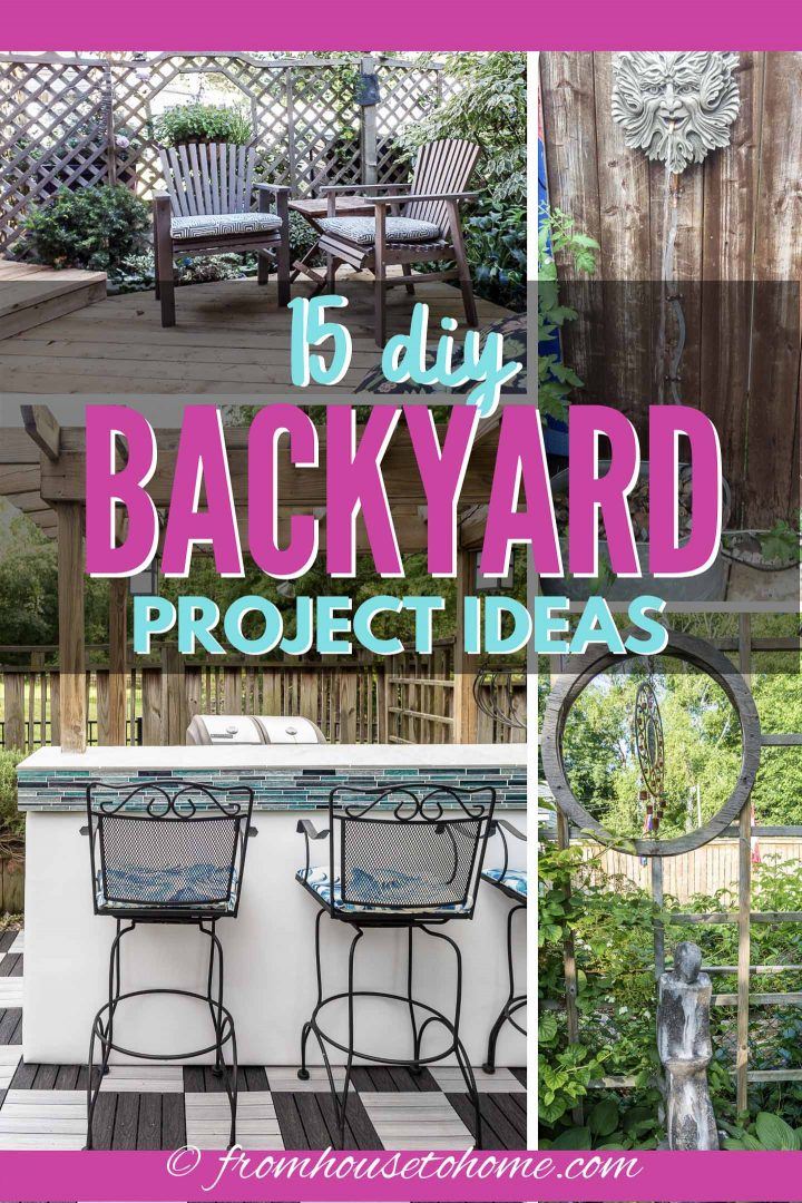 15 DIY backyard project ideas