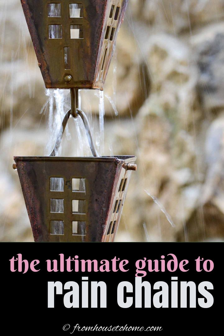 The ultimate guide to rain chains