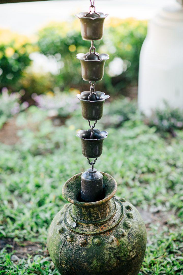 Rain chain basin ©wovelove - stock.adobe.com