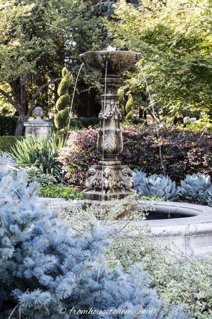 Traditional water fountain