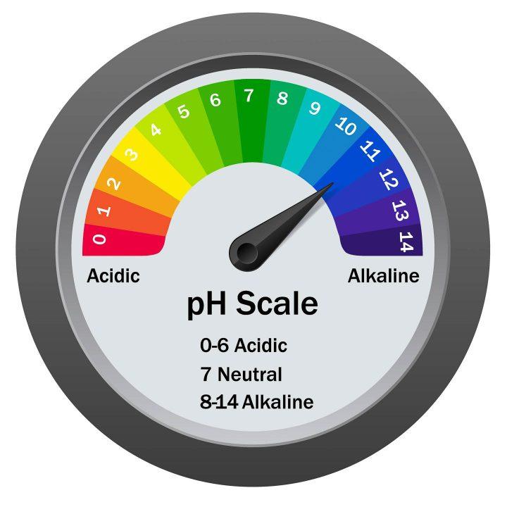 garden soil pH scale