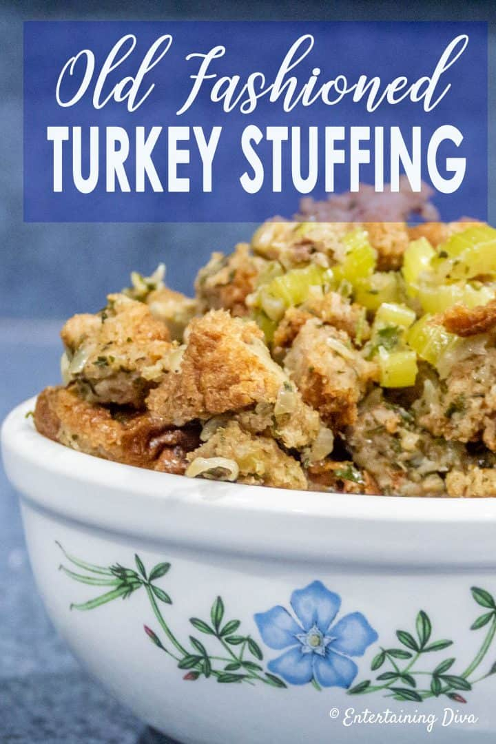 Old Fashioned Celery and Sage Turkey Stuffing Recipe