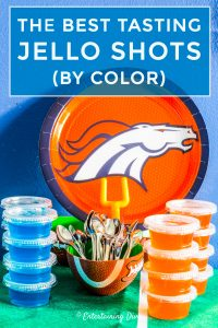 The best tasting jello shots recipes by color
