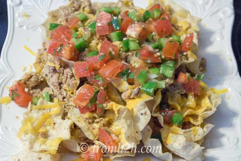 Nachos With Homemade Salsa | 7 Ways to Use Too Many Tomatoes