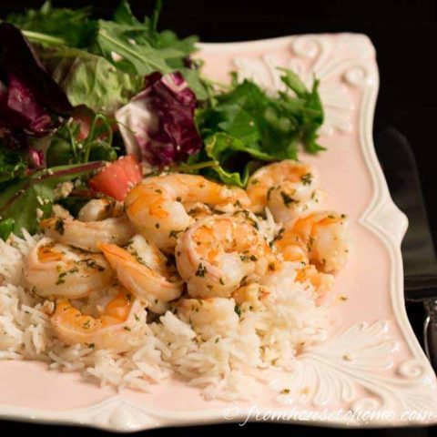 Lemon Butter Garlic Shrimp