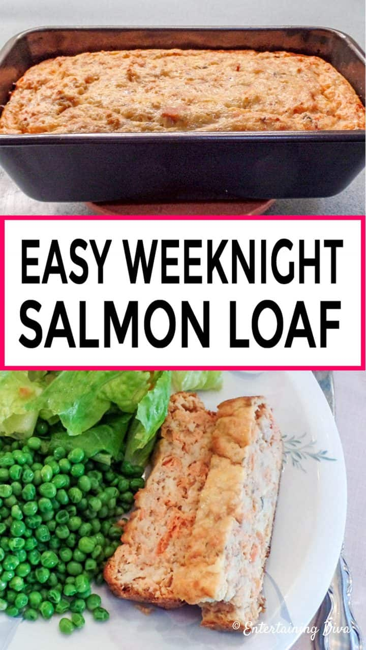 Easy weeknight salmon loaf