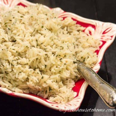 Simplified Rice Pilaf