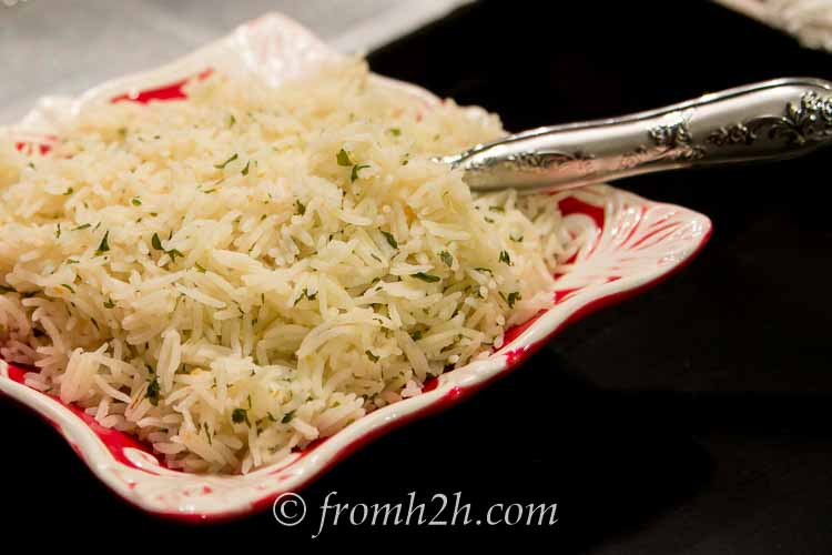 Simplified Rice Pilaf: Great flavor in less time