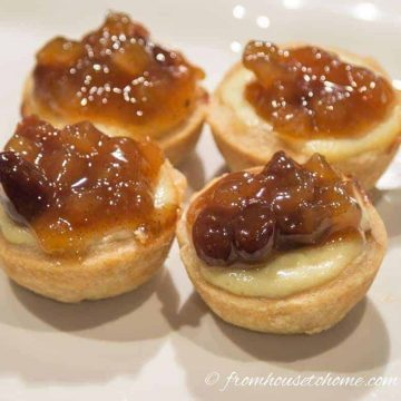 Cheesecake Mincemeat Tarts