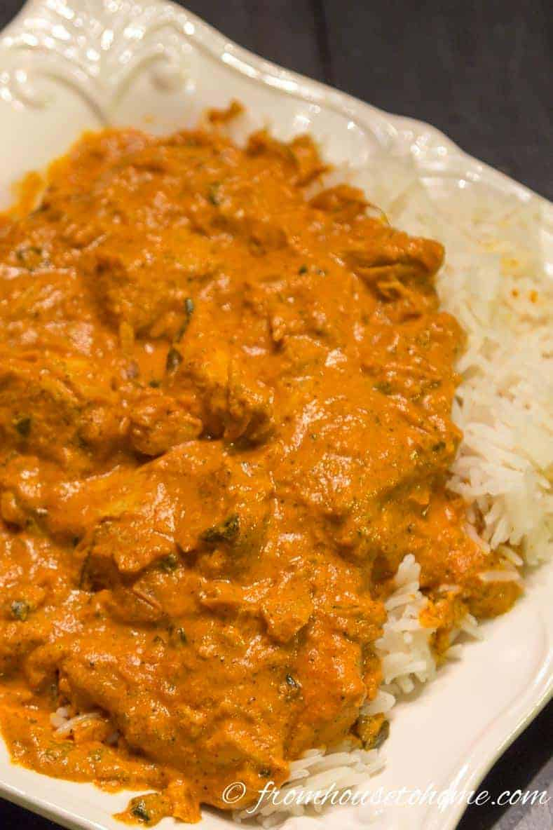 Simplified Chicken Makhani