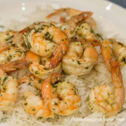Thai Inspired Shrimp