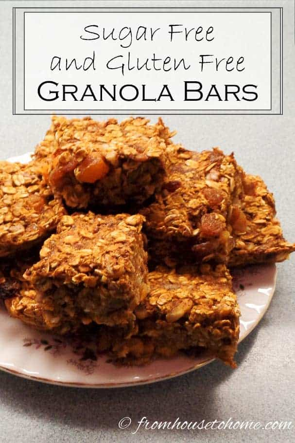 Sugar Free Granola Bars