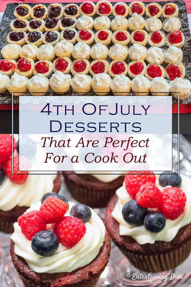 4th Of July Desserts That Are Perfect For A Cook Out