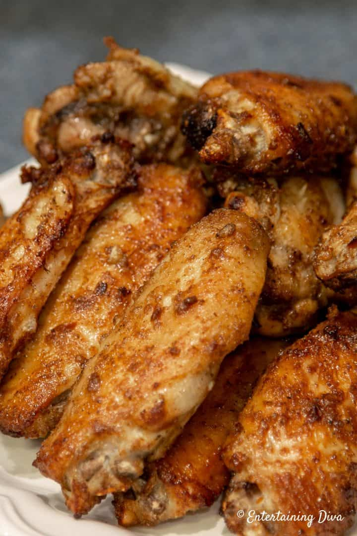 Gluten free Asian spice chicken wings can be either baked or grilled
