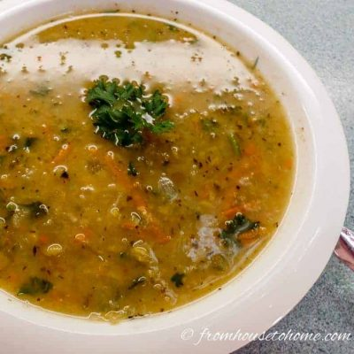 Blue Ribbon Pea Soup