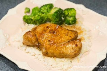 Soy Brown Sugar and Garlic Pork Chops