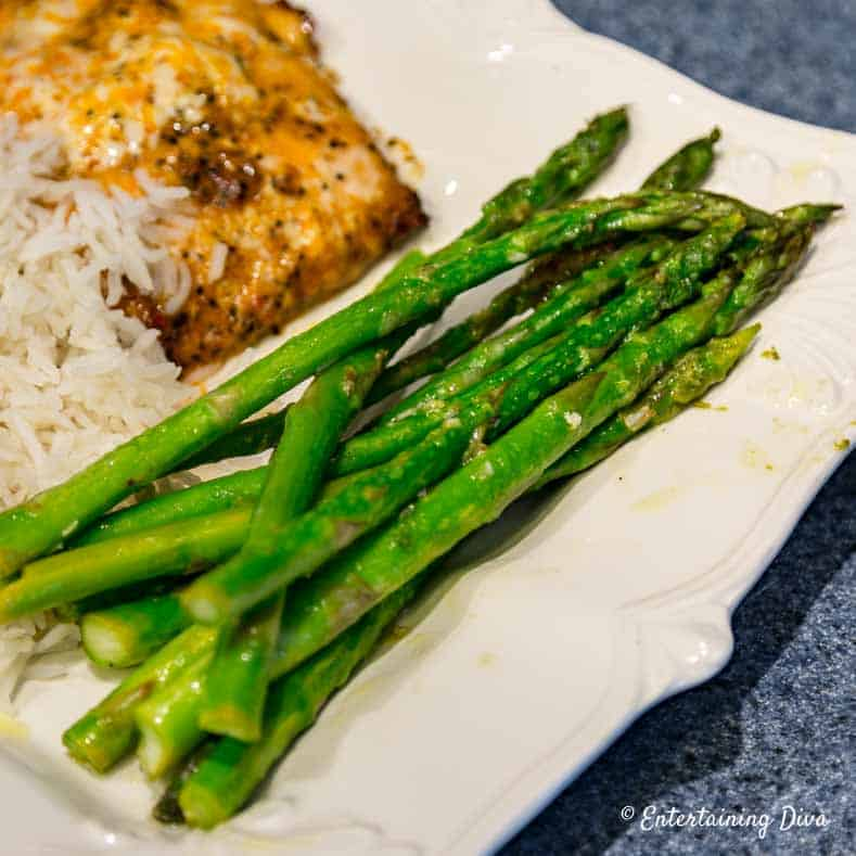 4th of july menu - Grilled Asparagus
