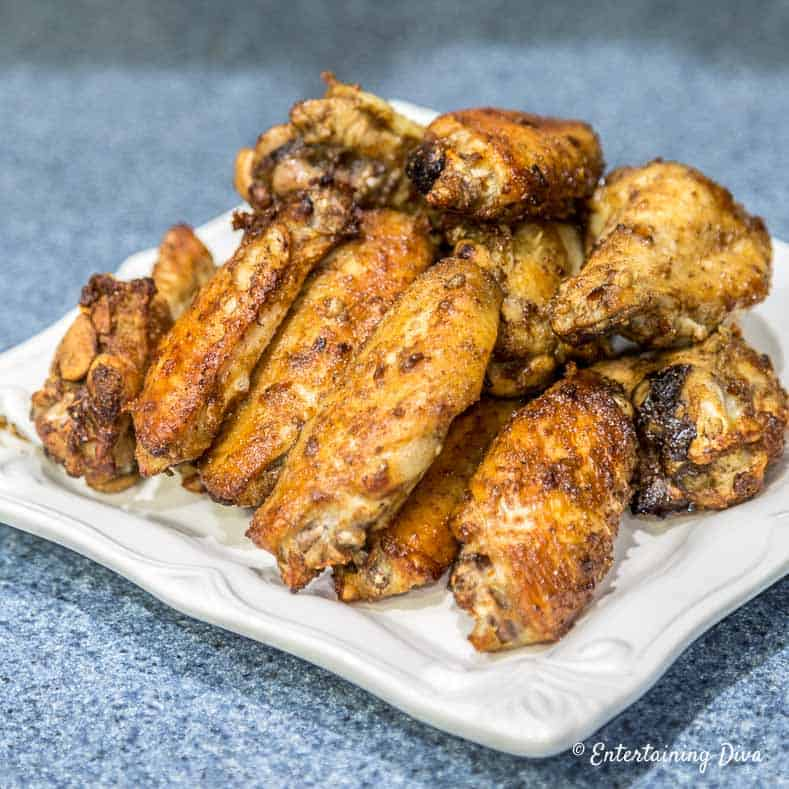 4th of July menu - Asian Spiced Wings